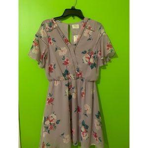 Sienna Sky knee length floral dress